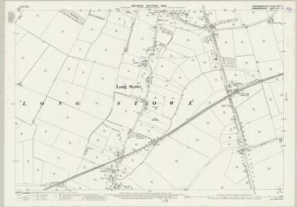 Huntingdonshire XXVIII.12 (includes: Bourn; Great Gaddensden; Longstowe) - 25 Inch Map
