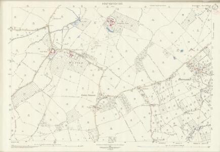 Herefordshire XVIII.6 (includes: Dilwyn; Pembridge; Weobley) - 25 Inch Map