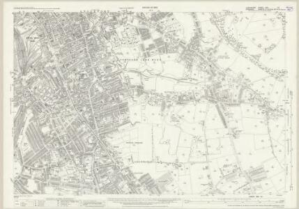Lancashire CXII.13 (includes: Stockport) - 25 Inch Map