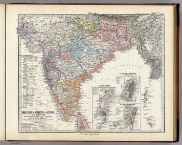 Indien & Inner-Asien In 2 Blattern. (Sudliches Blatt)