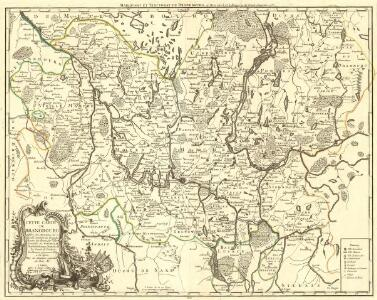 Cette Carte du Brandbourg