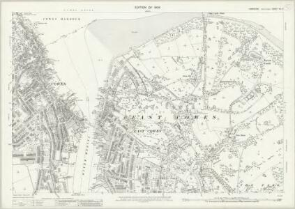 Hampshire and Isle of Wight XC.2 (includes: Cowes) - 25 Inch Map