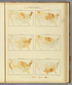 26. Interstate migration 1890 ME-MS.