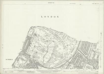 Kent VII.10 (includes: Beckenham; Camberwell; Lewisham; Penge) - 25 Inch Map
