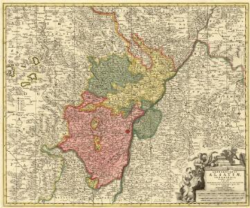 Landgraviatus Alsatiae Inferioris Novissima Tabula