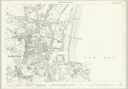 Devon CXXII.5 (includes: Paignton) - 25 Inch Map