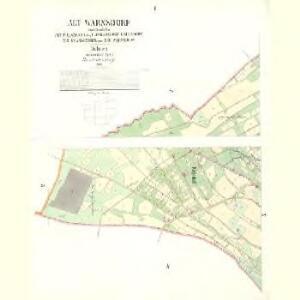 Alt Warnsdorf - c8331-1-002 - Kaiserpflichtexemplar der Landkarten des stabilen Katasters