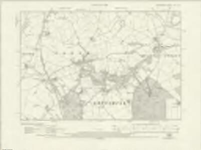 Shropshire XXI.SE - OS Six-Inch Map