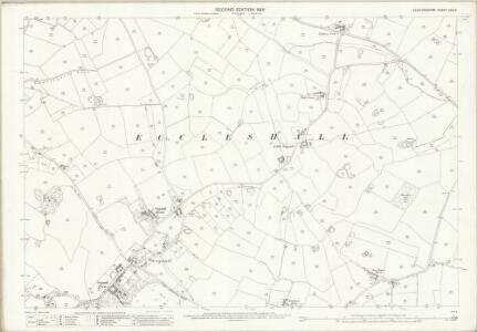 Staffordshire XXIX.6 (includes: Eccleshall) - 25 Inch Map