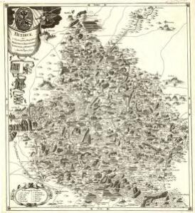 Bezirck Der Nürnbergischen Pfleg Aembter Herrspruck Reicheneck Engelthal und Hohenstein im Alten Nordgau gelegen