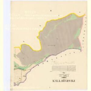 Ziegelhütten - c0756-1-001 - Kaiserpflichtexemplar der Landkarten des stabilen Katasters