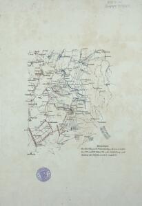Bewegungen der Alliirten, und Französischen Armee zwischen dem 19ten und 21ten März 1761, nebst Aufstellung und Rückzug der Alliirten am 23ten und 24ten