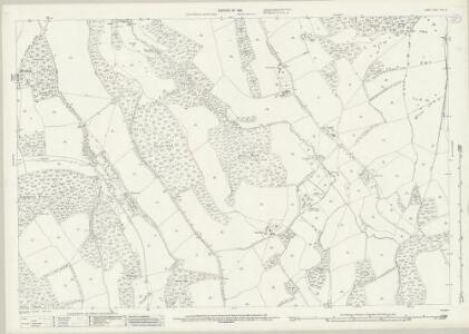 Surrey XXXIII.6 (includes: Holmwood; Milton; Wotton) - 25 Inch Map