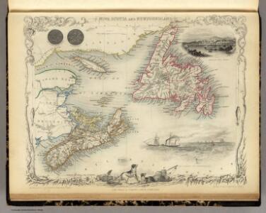 Nova Scotia And Newfoundland.