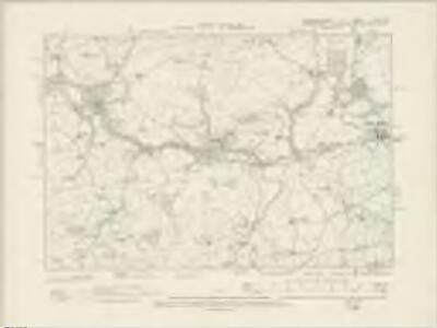 Caernarvonshire XXIV.SE - OS Six-Inch Map