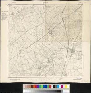 Meßtischblatt 2040 : Beelitz, 1916
