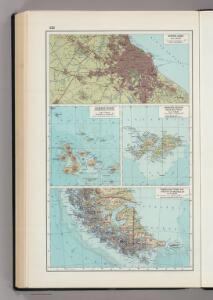 223.  Buenos Aires, Galapagos, Falklands, Tierra del Fuego, Straits of Magellan.  The World Atlas.