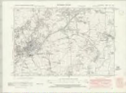 Lancashire XVI.SW - OS Six-Inch Map