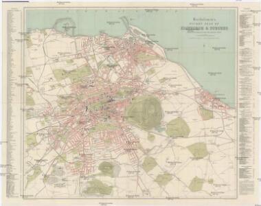 Bartholomew's pocket plan of Edinburgh & Suburbs