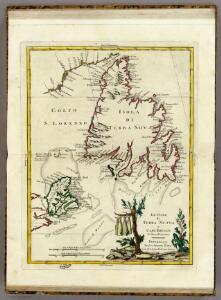 Le Isole di Terra Nuova e Capo Breton Di Nuova Projezione.
