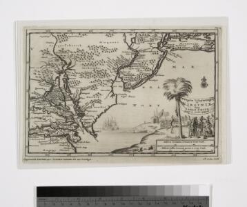 D'Engelze volkplanting in Virginie / door Iohan Smith bezogt en verder uytgeset; uytgevoerd te Leyden door Pieter vander Aa.