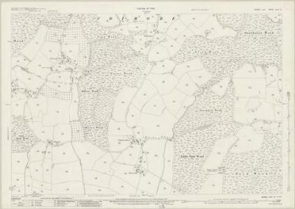Sussex XLIV.10 (includes: Brede) - 25 Inch Map