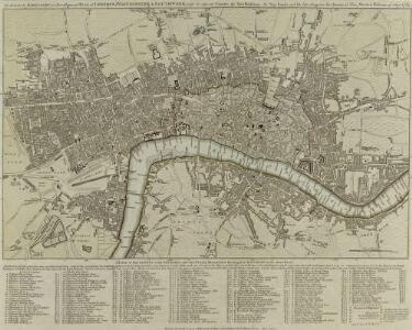 The LONDON DIRECTORY, or a New & Improved PLAN of LONDON, WESTMINSTER, & SOUTHWARK; 157