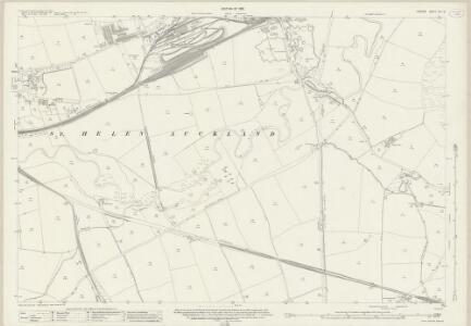Durham XLII.10 (includes: Bishop Auckland; Etherley; Shildon) - 25 Inch Map