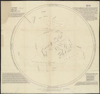 Middleton's pioneer map of the world, [as a?] plane and immoveable