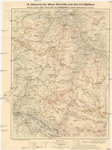 III. Skikarte der West-Silvretta und des Ost-Rätikon