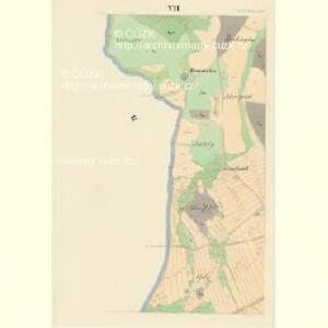 Gross Czekau - c0785-1-006 - Kaiserpflichtexemplar der Landkarten des stabilen Katasters