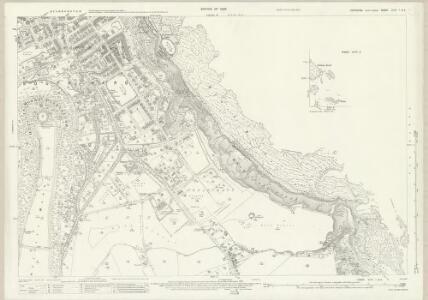 Yorkshire XCIV.1 (inset XCIV.2) (includes: Scarborough) - 25 Inch Map