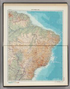 227-228.  South America, East.  The World Atlas.