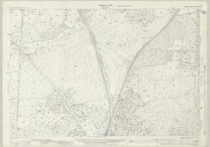 Dorset XXXIV.16 (includes: Corfe Mullen; Poole) - 25 Inch Map