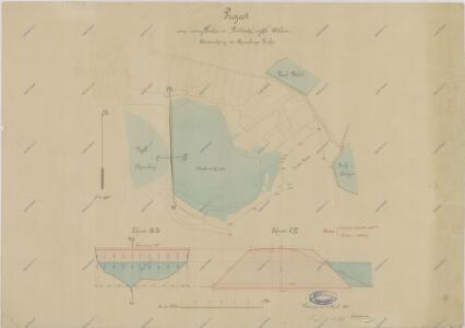Projekt Podbřezského rybníka u Staré Hlíny 1