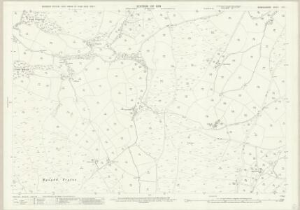 Denbighshire XIII.1 (includes: Bylchau; Llanefydd; Llansannan) - 25 Inch Map