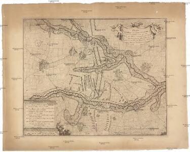 Plan du passage des lignes de Brabant