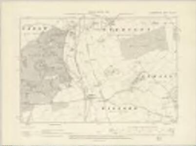 Warwickshire XLIII.NW - OS Six-Inch Map