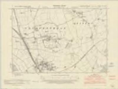 Northamptonshire LII.SW - OS Six-Inch Map
