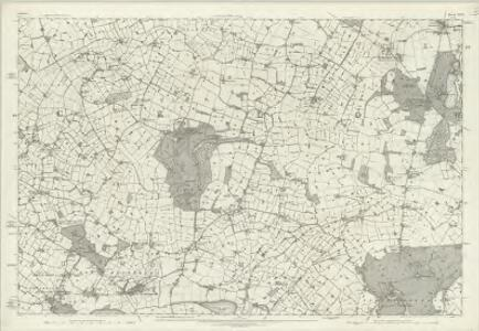 Cheshire XXV - OS Six-Inch Map