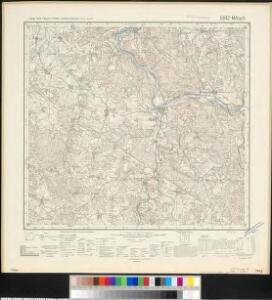 Meßtischblatt 6842 : Miltach, 1940