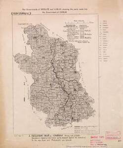 Religion and language maps of Lublin province, Poland no.01