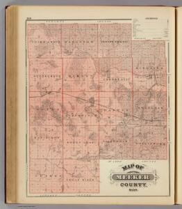 Map of Meeker County, Minn.