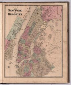 Plan of New York and Brooklyn.
