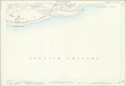 Hampshire and Isle of Wight C.6 (includes: Niton) - 25 Inch Map