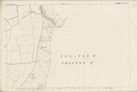Hampshire and Isle of Wight LX.15 (includes: Buriton; Clanfield) - 25 Inch Map