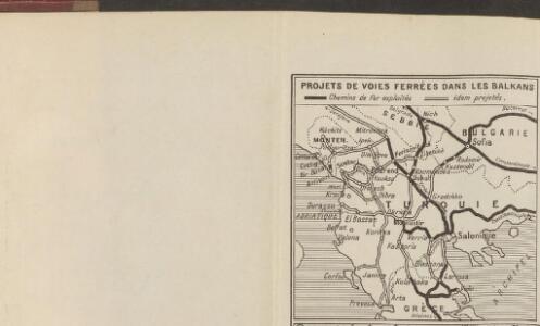 Projets de voies ferrées dans les Balkans