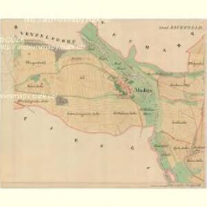 Mudlau - m1839-1-002 - Kaiserpflichtexemplar der Landkarten des stabilen Katasters