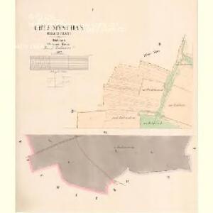 Chlumtschan (Chlumczan) - c2521-1-001 - Kaiserpflichtexemplar der Landkarten des stabilen Katasters
