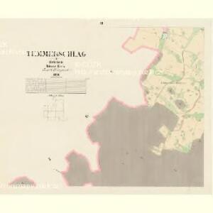 Temmerschlag - c4856-1-003 - Kaiserpflichtexemplar der Landkarten des stabilen Katasters